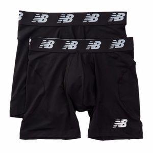 "New Balance Men's 6"" Boxer Briefs 2 Pack"